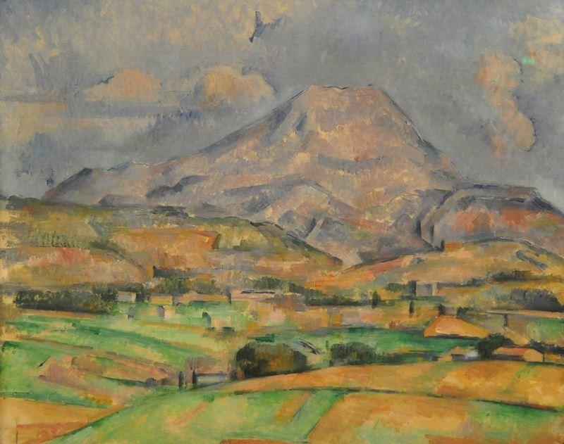 Sainte-Victoire Dağı, 1888 dolayları resmi