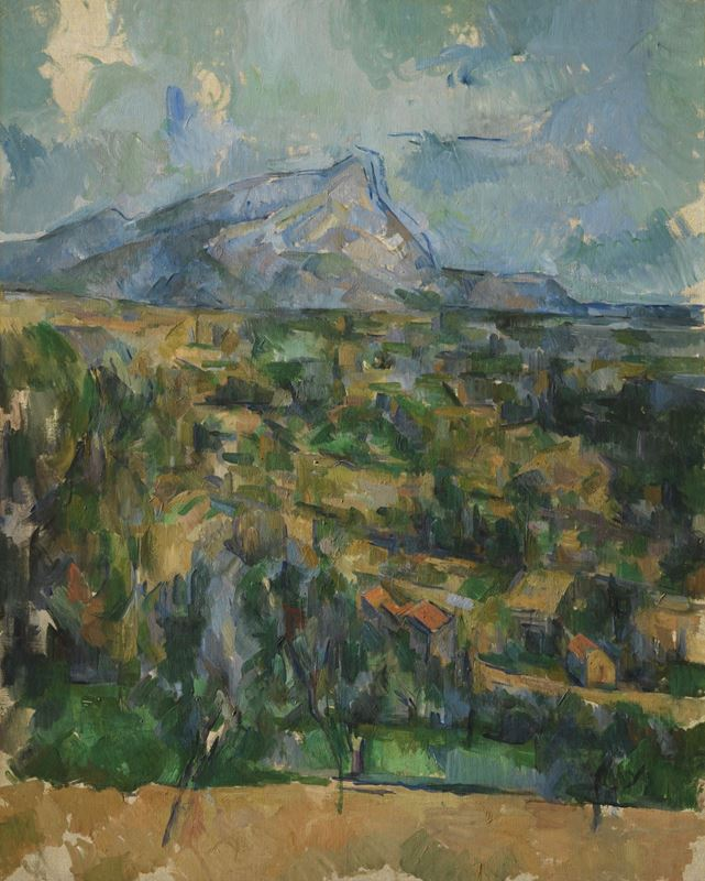 Picture for Mont Sainte-Victoire, 1904-1906