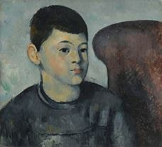 Show Portrait of the Artist's Son, c. 1881-1882 details