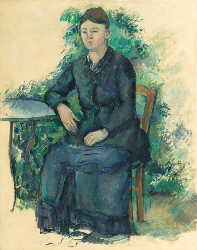 Picture for Madame Cézanne in the Garden, 1879-1882