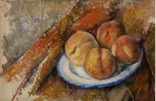 Show Four Peaches on a Plate, 1890-1894 details