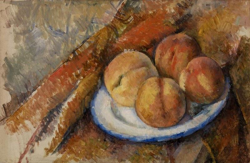 Picture for Four Peaches on a Plate, 1890-1894