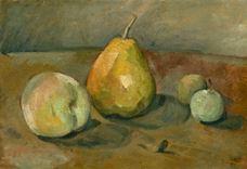 Natürmort, Armut ve Yeşil Elmalar, 1873 dolayları