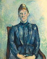 Show Portrait of Madame Cézanne, 1890 details