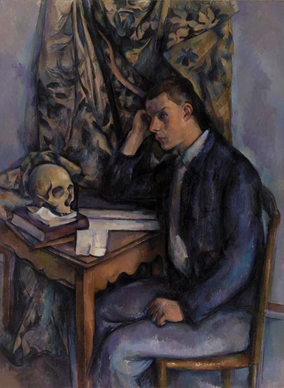 Picture for Young Man and Skull, 1896-1898