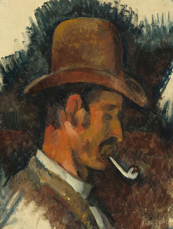 Picture for Man with Pipe, 1892-1896