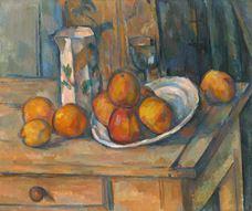 Süt Kabı ve Meyve ile Natürmort, 1900 dolayları