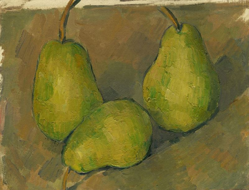Picture for Three Pears, 1878-1879