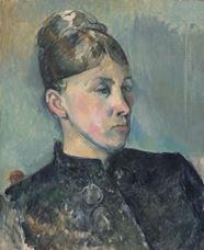 Show Portrait of Madame Cézanne, 1885-1886 details