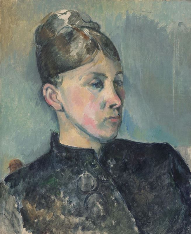 Picture for Portrait of Madame Cézanne, 1885-1886