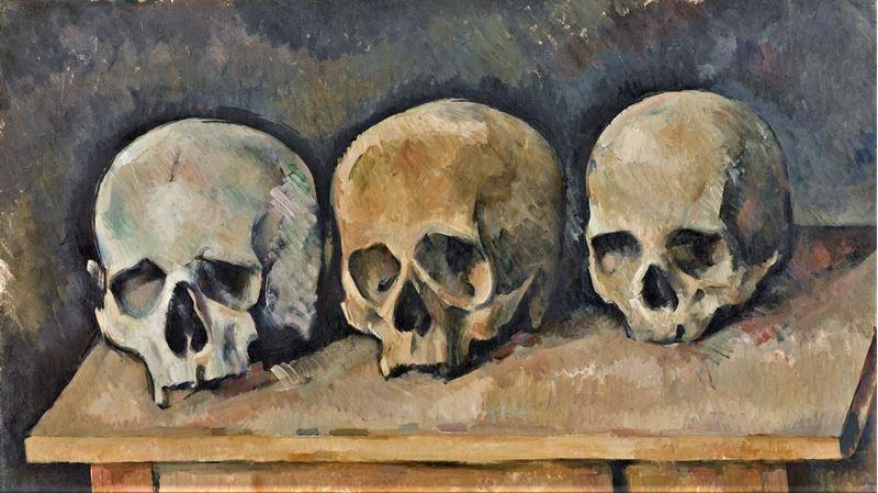 Üç Kafatası, 1898 dolayları resmi