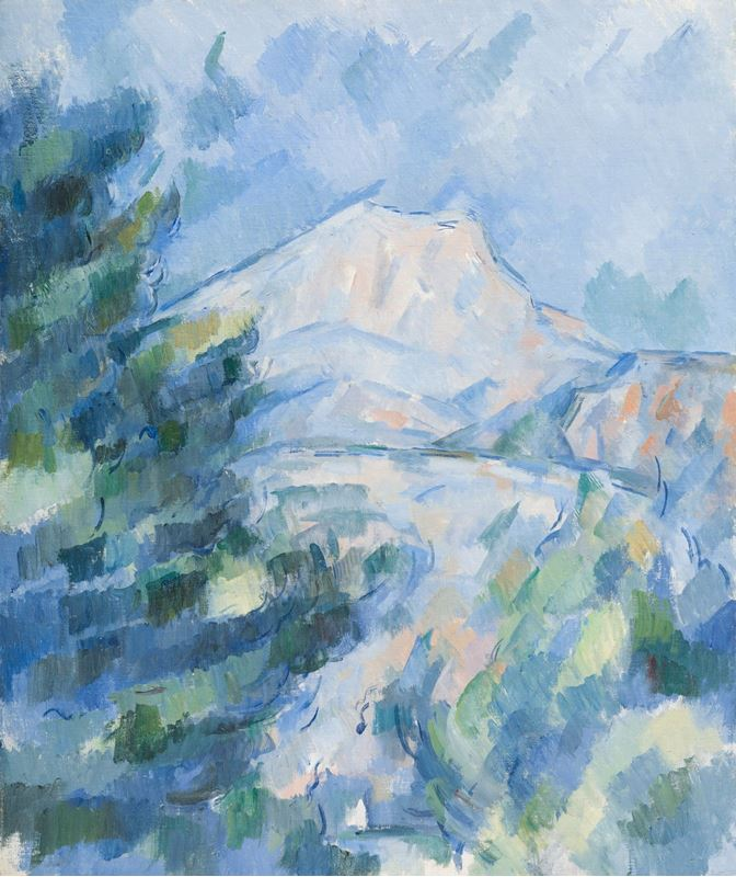 Sainte-Victoire Dağı, 1904-1906 resmi