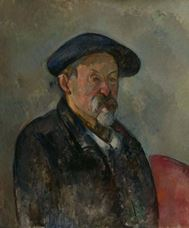 Show Self-Portrait with a Beret, 1898-1900 details