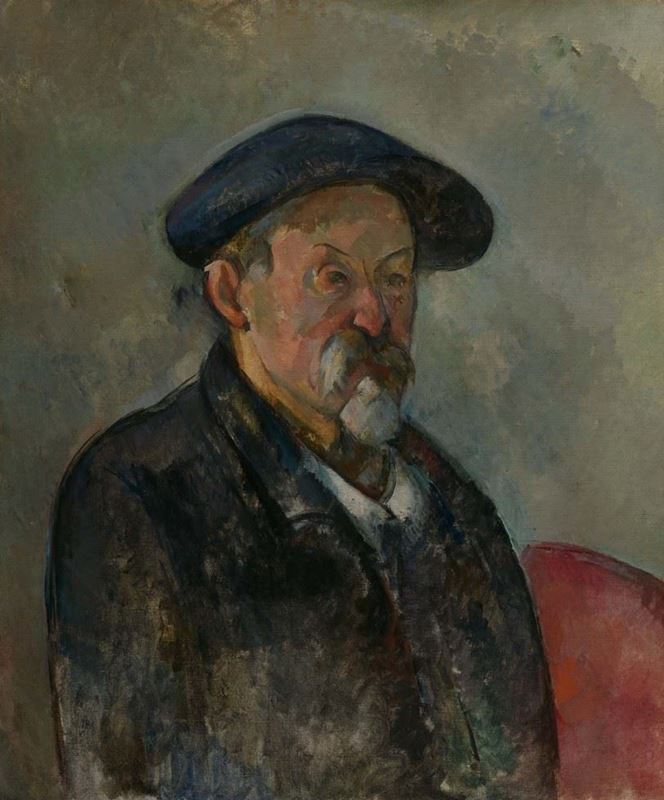 Picture for Self-Portrait with a Beret, 1898-1900