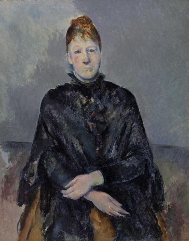 Madam Cézanne, 1888-1890 resmi