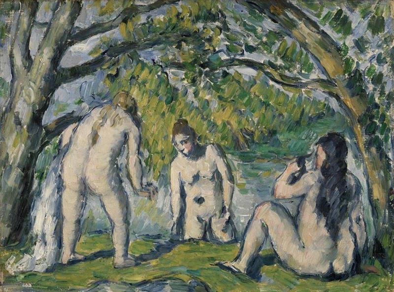 Picture for Three Bathers, 1876-1877