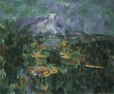 Show View of Mount Sainte-Victoire from Les Lauves, 1904-1906 details
