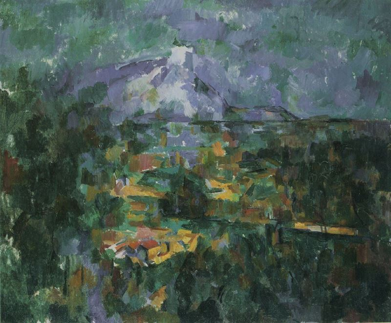 Picture for View of Mount Sainte-Victoire from Les Lauves, 1904-1906
