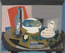 Show Still Life with Biscuits, 1924 details