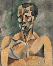 Show Bust of a Man (The Athlete), 1909 details