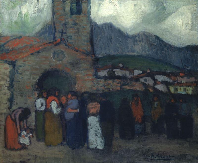 İspanyol Kilisesi, 1901-1902 resmi