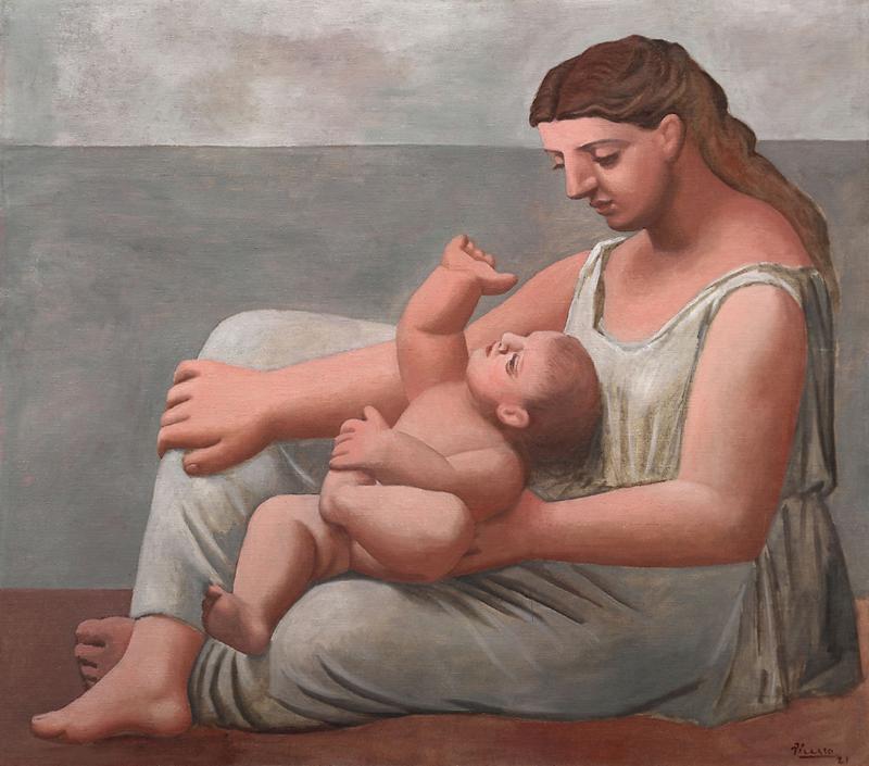 Anne ve Çocuk, 1921 resmi