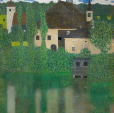 Show Kammer Chateau near Attersee I, 1908-1909 details
