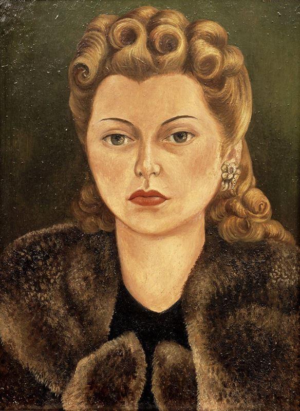 Natasha Gelman'ın Portresi, 1943 resmi
