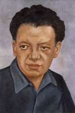 Show Portrait of Diego Rivera, 1937 details