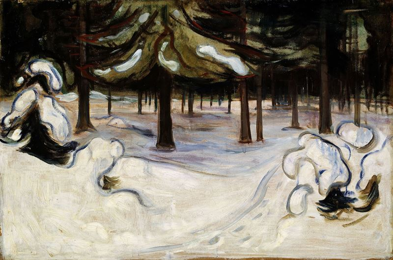 Kış, 1899 resmi