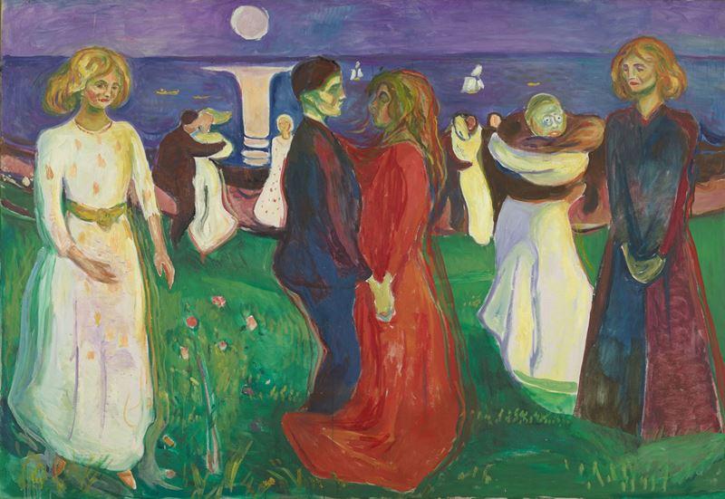 Yaşam Dansı, 1925 resmi