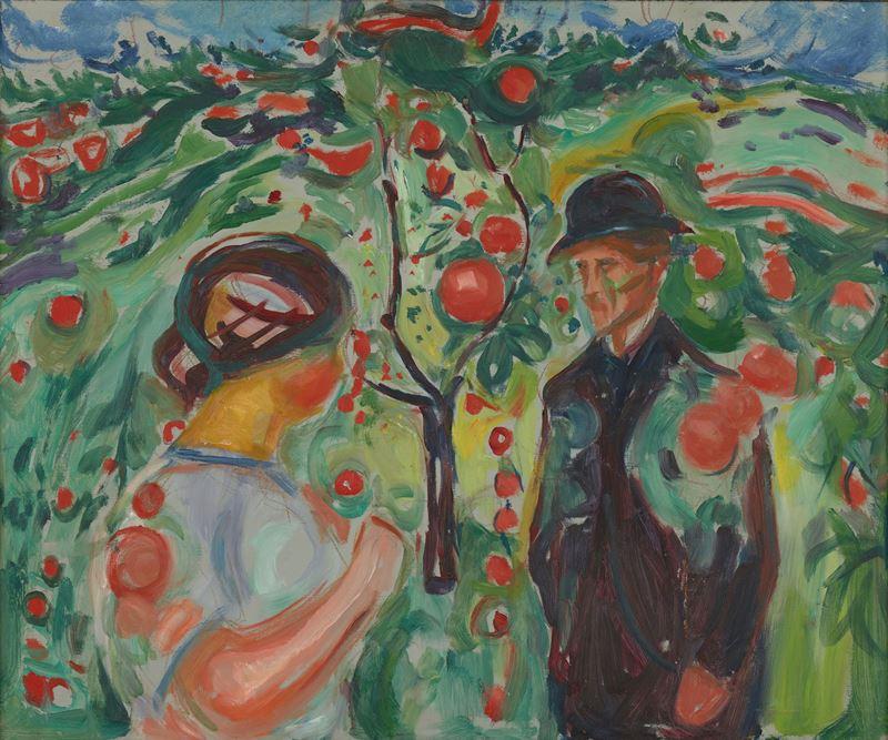 Kırmızı Elmalar Altında, 1927-1930 resmi