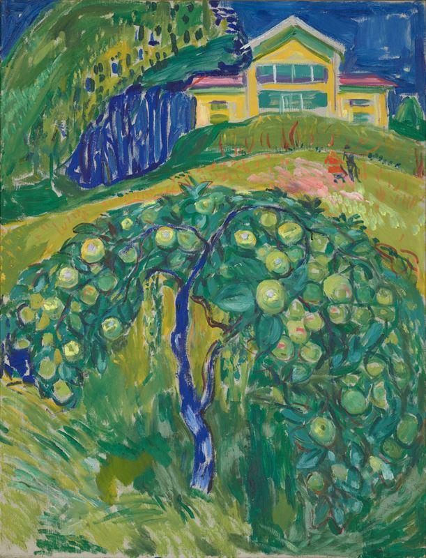 Bahçedeki Elma Ağacı, 1932-1942 resmi