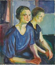 Show Two Women, Seated, 1924-1926 details