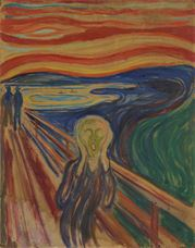 Show The Scream, 1910 details