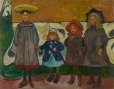 Show Four Girls in Asgardstrand, 1903 details