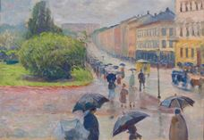 Show Karl Johan in the Rain, 1891 details