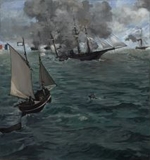 Show The Battle of the Kearsarge and the Alabama, 1864 details