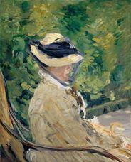 Show Madame Manet (Suzanne Leenhoff), 1880 details