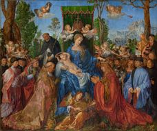 Show Feast of the Rose Garlands, 1506 details