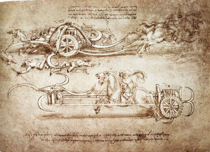 Tırpanlı Savaş Arabası, 1485 dolayları resmi