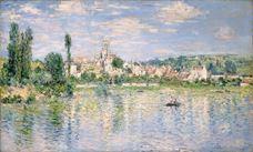Yazın Vétheuil, 1880