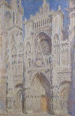 Show Rouen Cathedral, The Portal (Sunlight), 1894 details