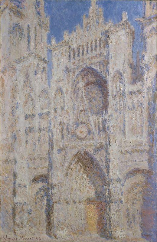 Rouen Katedrali, Portal (Güneş Işığı), 1894 resmi