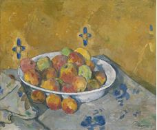 Show The Plate of Apples, c. 1877 details