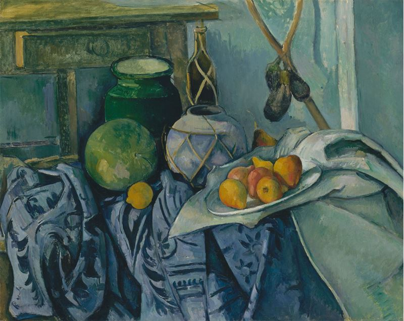 Picture for Still Life with a Ginger Jar and Eggplants, 1893-1894