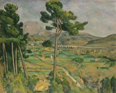 Show Mont Sainte-Victoire and the Viaduct of the Arc River Valley, 1882-1885 details