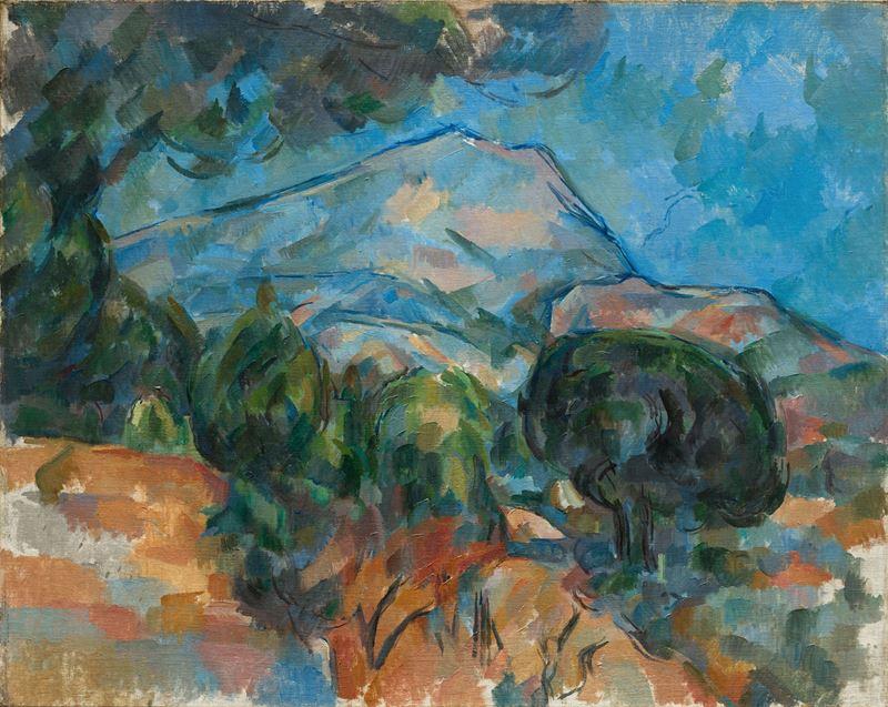 Sainte-Victoire Dağı, 1904 dolayları resmi