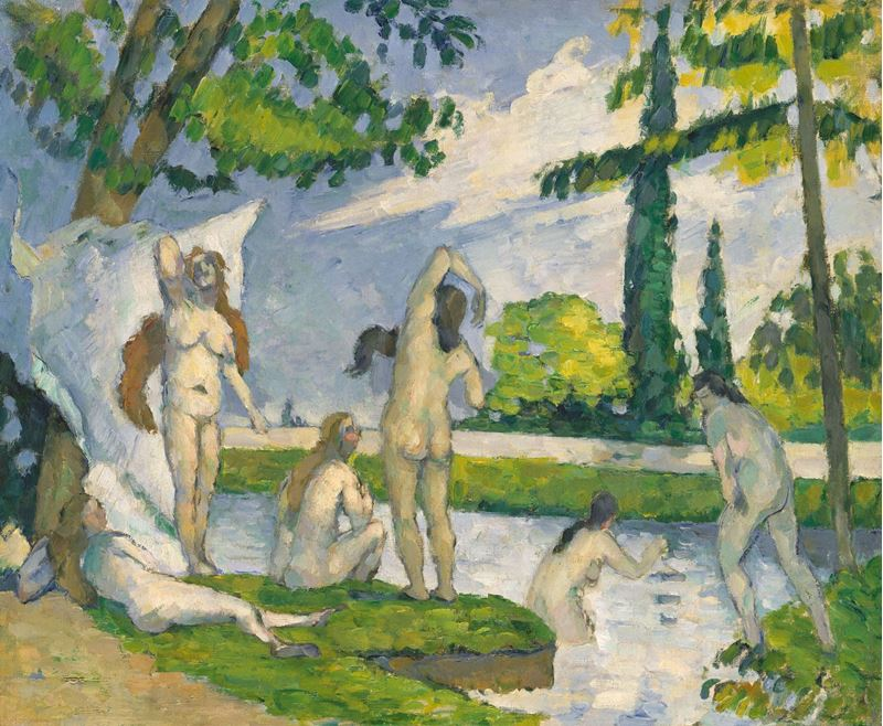 Picture for Bathers, 1874-1875