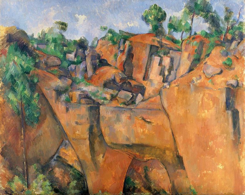 Picture for Quarry at Bibémus, c. 1895